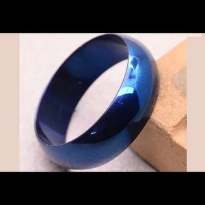 Stainless steel 7mm mood ring